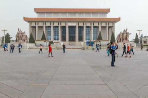 Мавзолей Мао Цзэдуна на площади Тяньаньмэнь