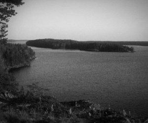 На Уницкой губе Онежского озера