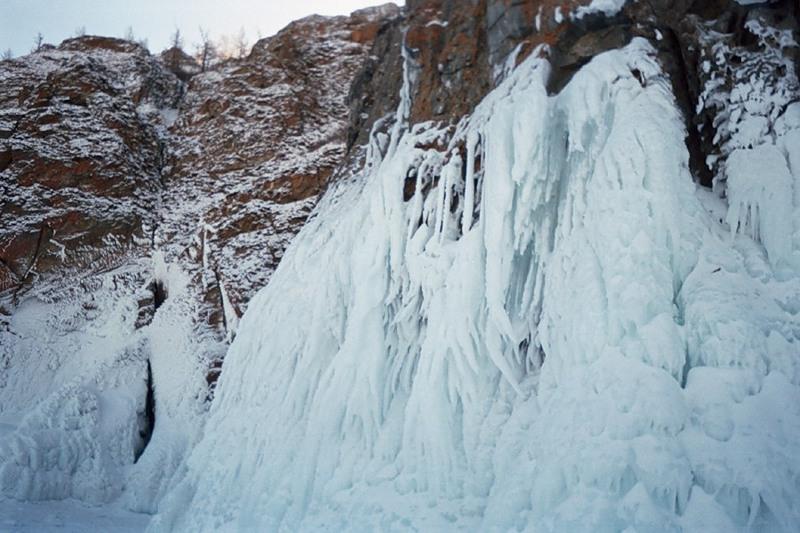 Остров Ольхон, Байкал, лед
