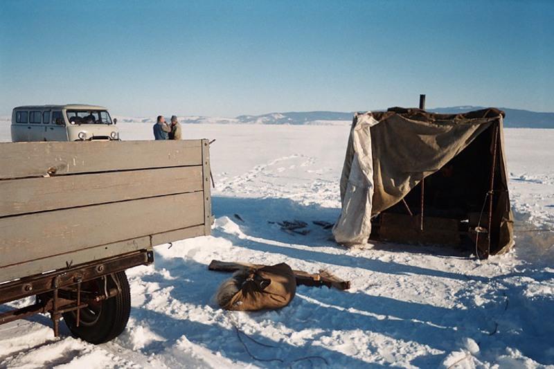 Палатка-камчатка, Остров Ольхон, Байкал