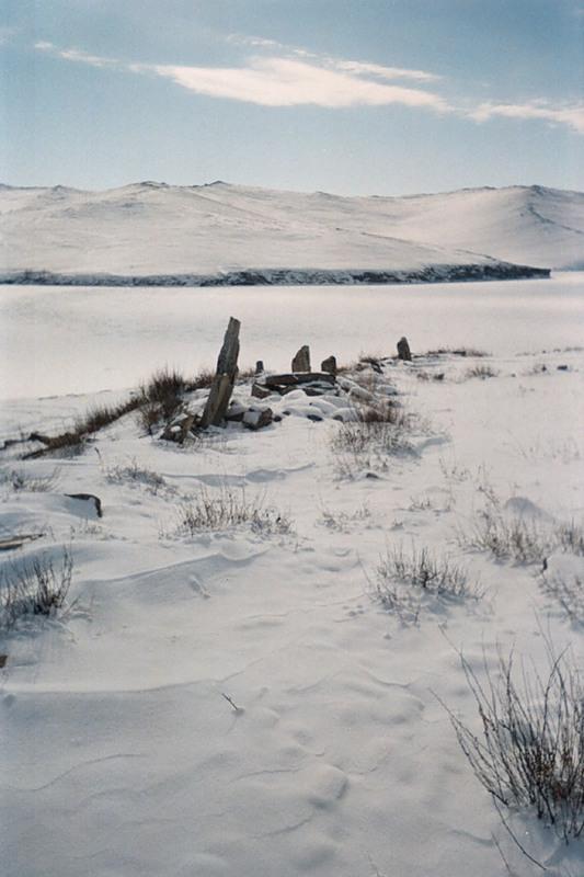 Курумканская стена, Остров Ольхон, Байкал