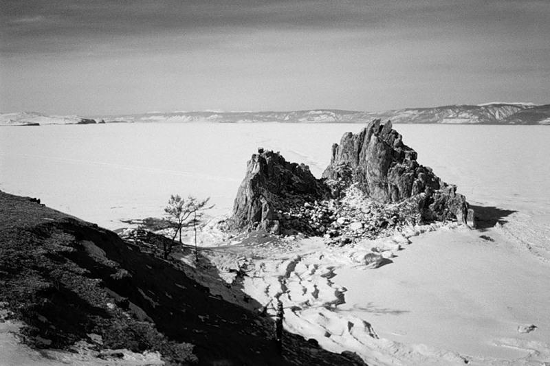 Скала Шаманка, Остров Ольхон, Байкал