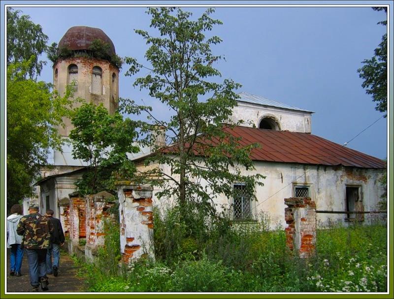 церковь Климента Римского и Петра Александрийского, Новая Ладога