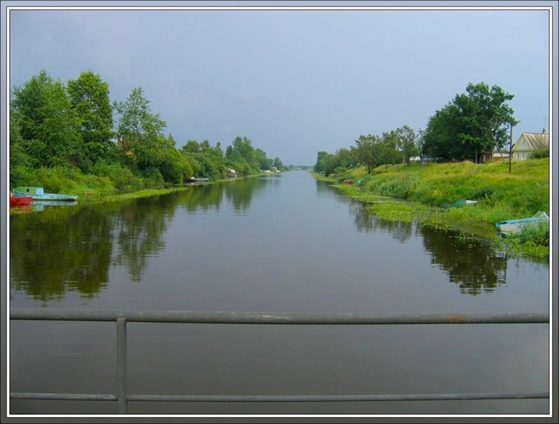 Канал, Новая Ладога