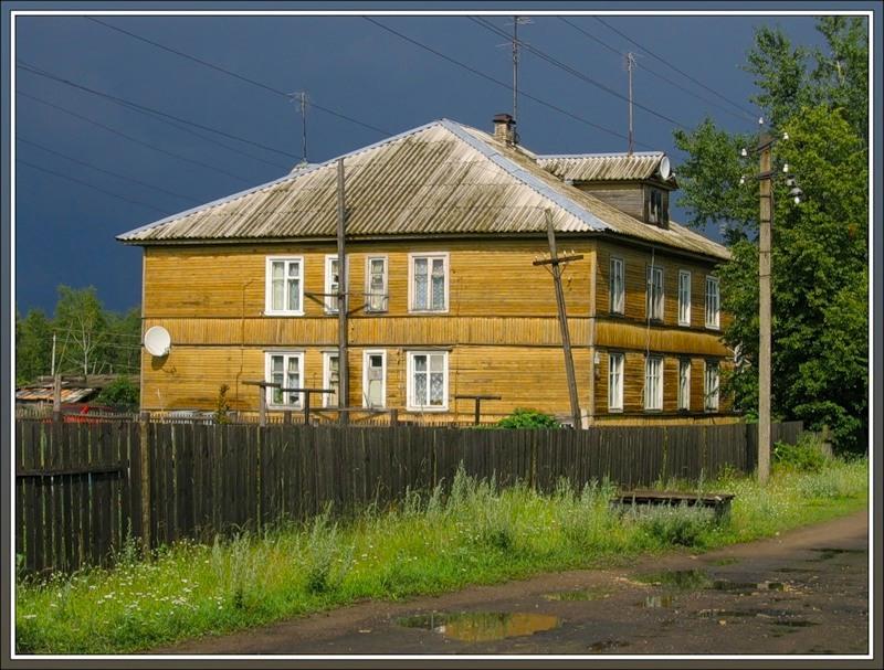 Деревянный дом, Новая Ладога