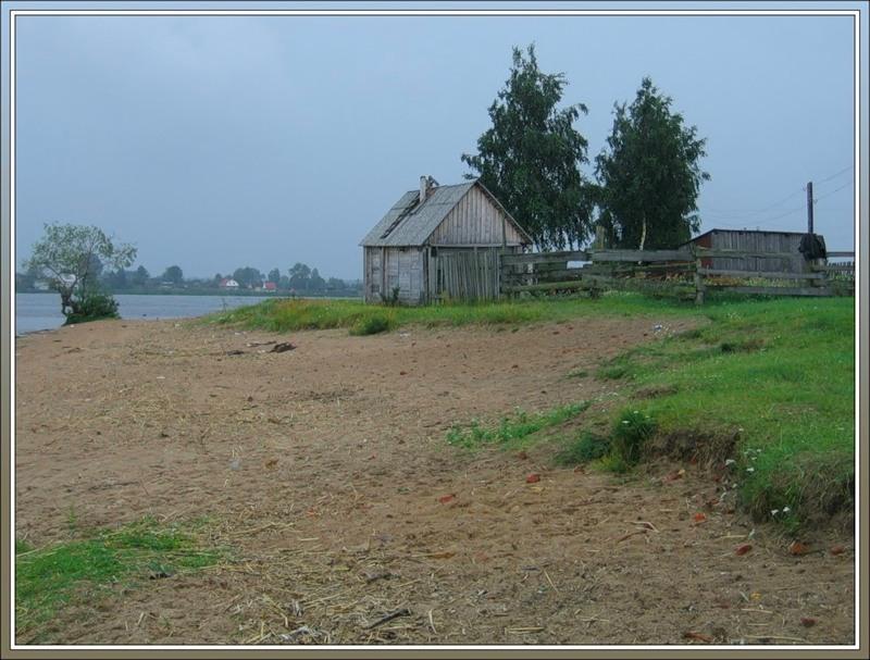 стрелка, южный берег Ладожского озера