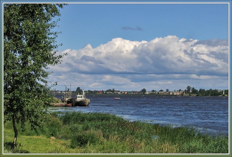 Корабли на Волхове