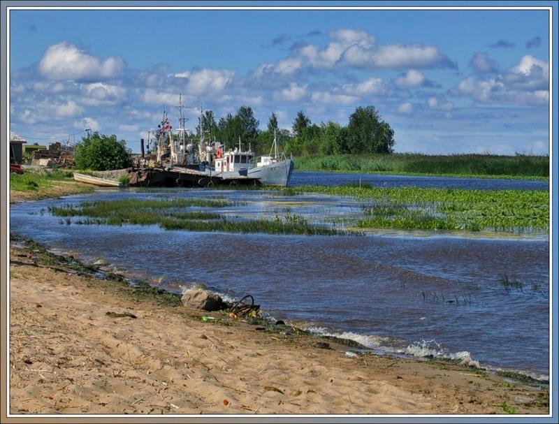 Корабли, южный берег Ладожского озера