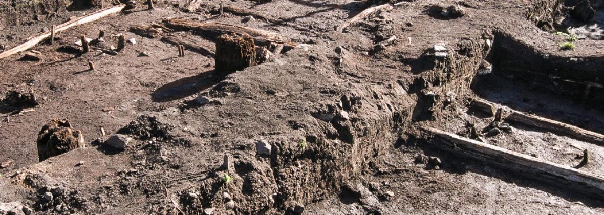 Работа в Староладожской археологической экспедиции