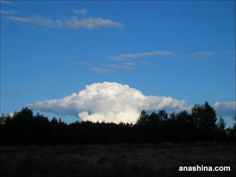 Облако, сентябрь в Подмосковье