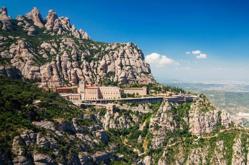 Монастырь Монтсеррат, Испания, Барселона