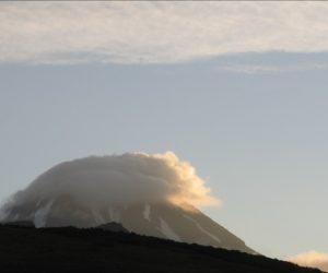 Утро Вилючинского вулкана