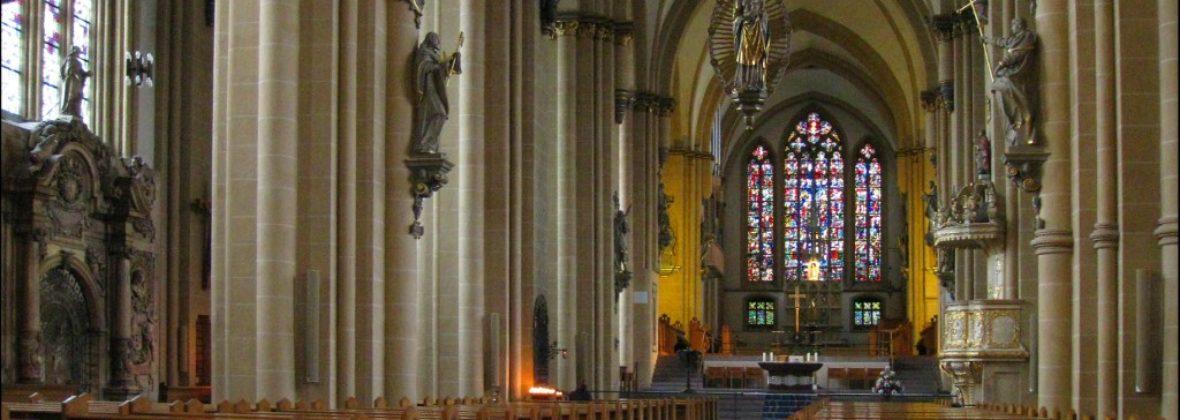 Внутреннее убранство Кафедрального собора Падерборна