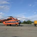 Полеты на вертолете над Камчаткой