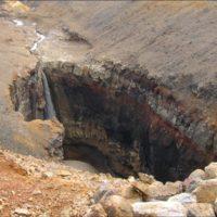 Мутновский вулкан, каньон Опасный и кальдера вулкана Горелый