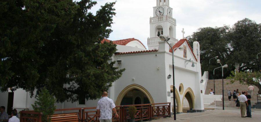 Поездка в монастырь Богородицы Цамбики на Родосе