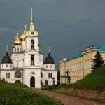 Дмитровский кремль: крепостные валы, Успенский собор, Никольские ворота, Елизаветинская церковь