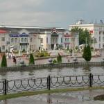 Дмитров: Советская площадь, Загорская улица, улица Минина и Большевистская улица