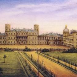 Гатчинский дворец. Роспись по форфору, вторая половина XIX века