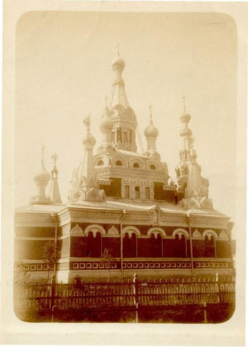 Никольский собор в Павловске, фото 1900-х годов