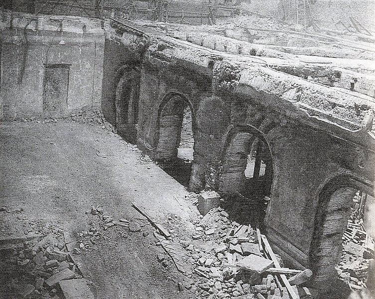 Третий Зимний дворец, Зимний дворец Петра I, Эрмитажный театр,