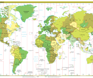 Часовые пояса Земли