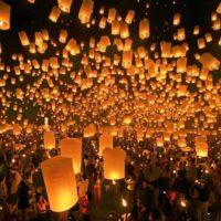 Праздник фонарей в Китае