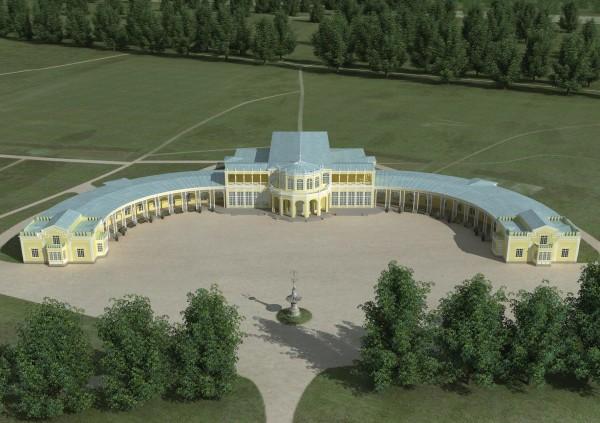 Музыкальный вокзал в Павловске