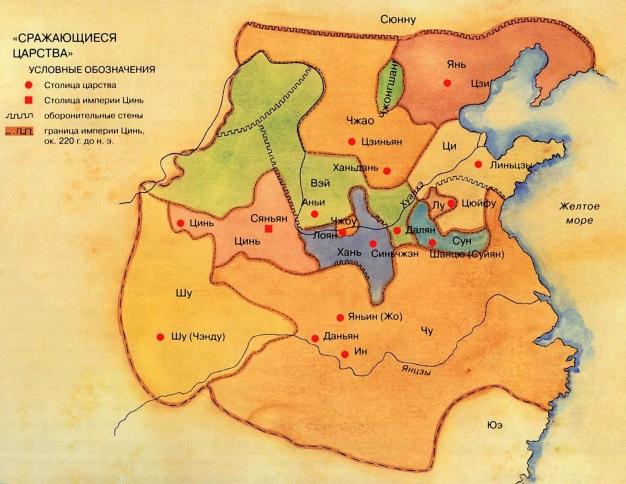 Китай в период Сражающихся царств