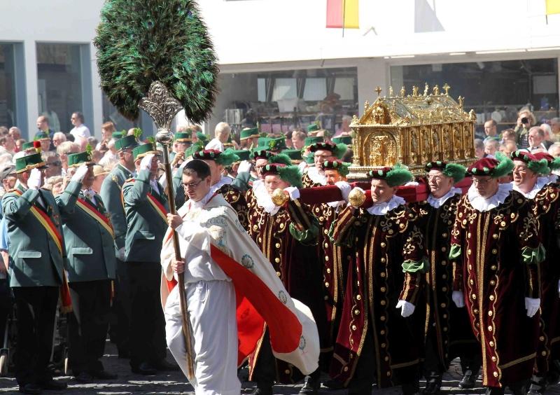Падерборн, Процессия с мощами святого Либория
