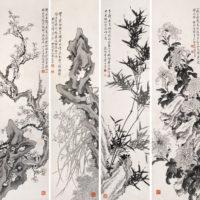 Четыре благородных растения Китая