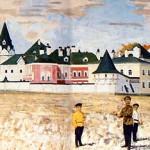 Постройки Федоровского городка в Царском Селе