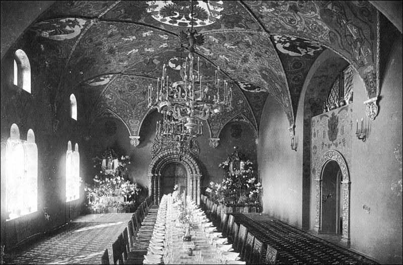 Трапезная палата Федоровского городка