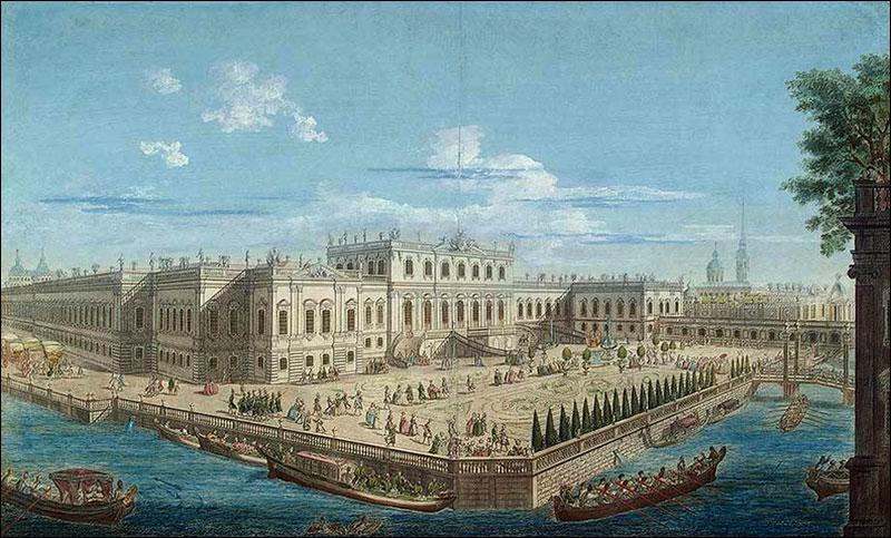 Летний дворец императрицы Елизаветы Петровны в Санкт-Петербурге