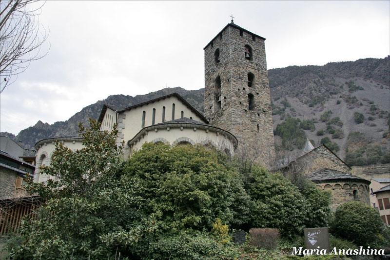 Андорра-ла-Велья, церковь святого Стефана