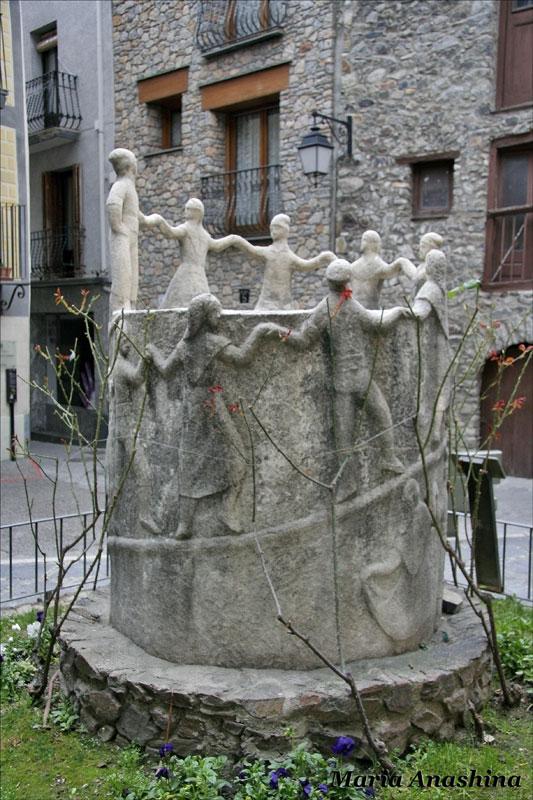 Андорра-ла-Велья, современная скульптура