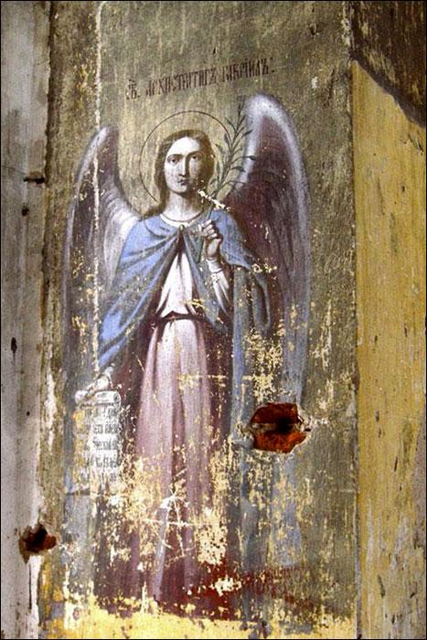 Роспись Скорбященской церкви в Ассаурово