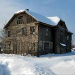 Старый дом в поселке 3-й участок – эхо Дмитровлага