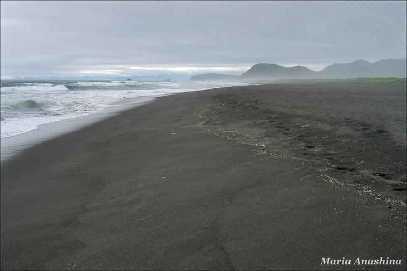 Халактырский пляж, Камчатка