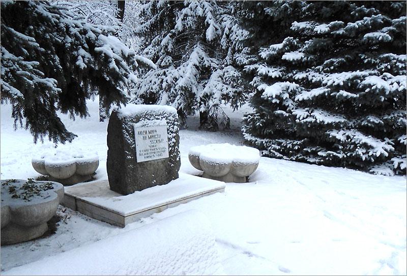 Кубань, Тимашевск, памятный камень
