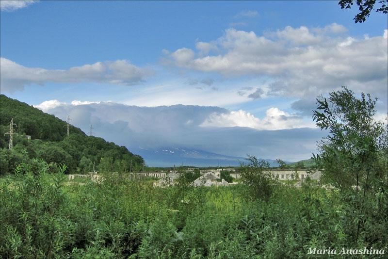 Камчатка, поселок Заозерный