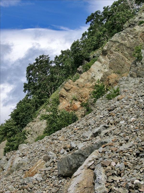Никольская сопка, скалы, Петропавловск-Камчатский, Камчатка