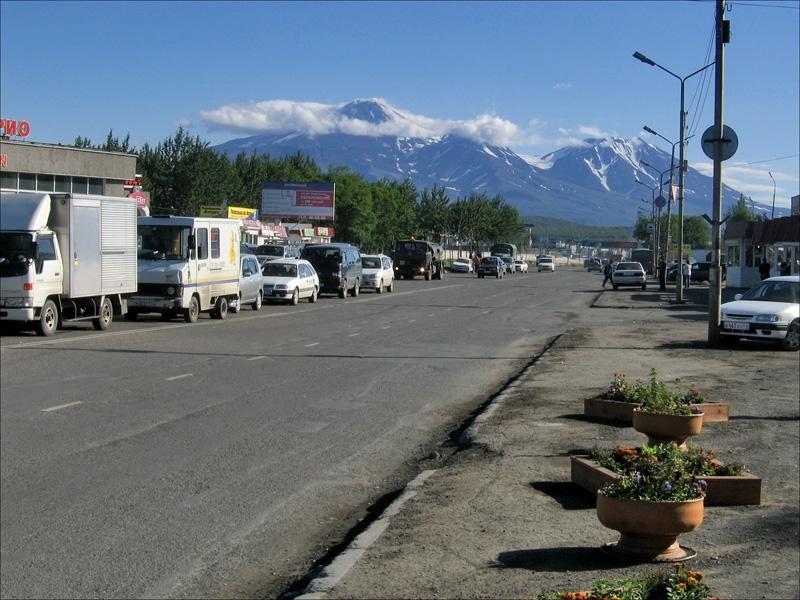 Улица в Петропавловске-Камчатском