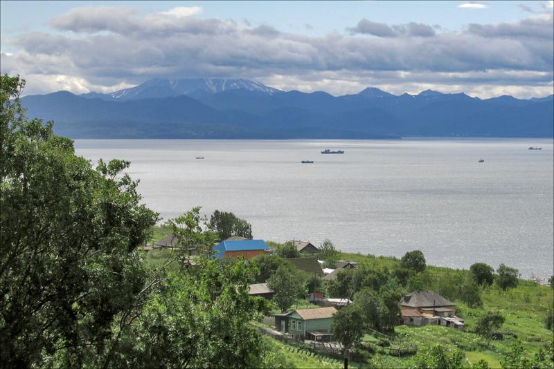 Авачинский залив, вулкан Вилючинский, Камчатка