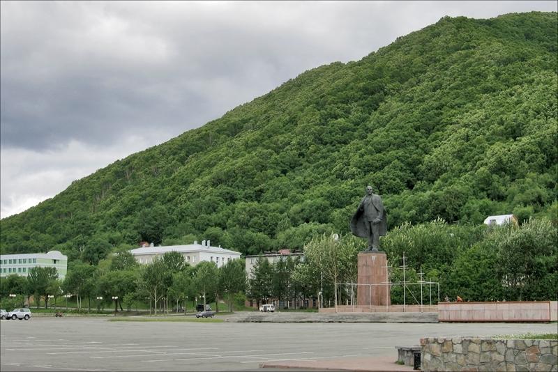 Памятник Ленину, Петропавловск-Камчатский, Камчатка