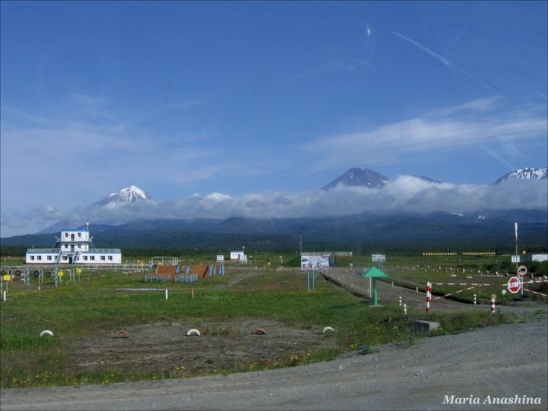 Камчатка, вулканы, авачинская группа вулканов