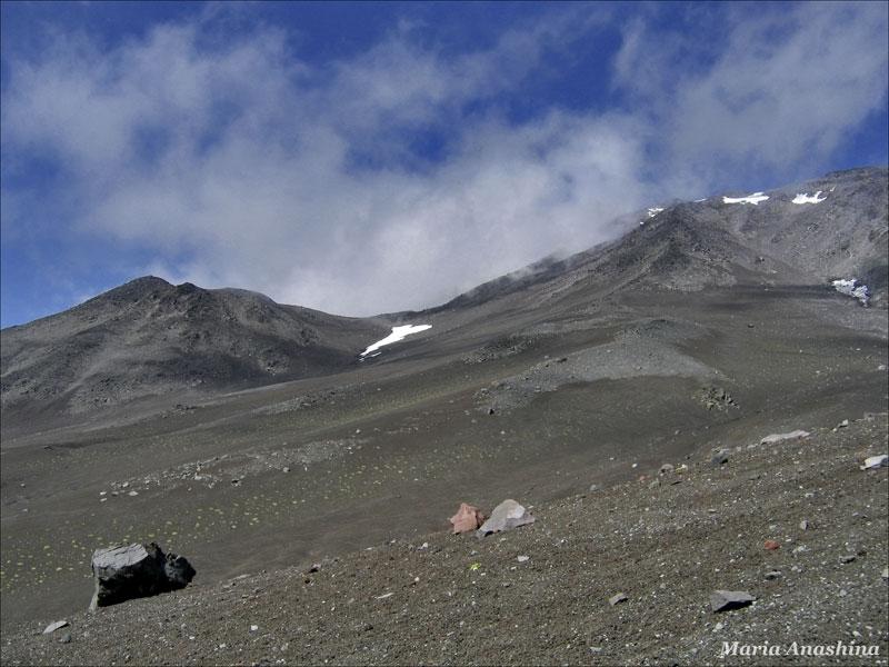 Склон Козельского вулкана, Камчатка