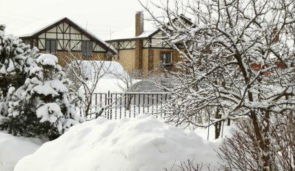 Мартовский снегопад
