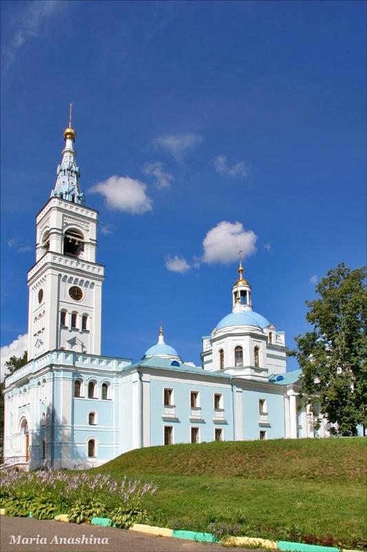 Собор Спаса Нерукотворного Спасо-Влахернского монастыря, Деденево
