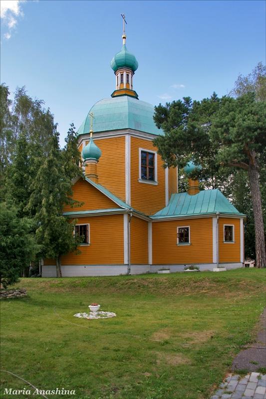 Спасо-Влахернский монастырь, церковь святого великомученика Димитрия Солунского